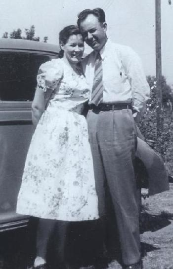 Jim reeves and mary reeves in 1948